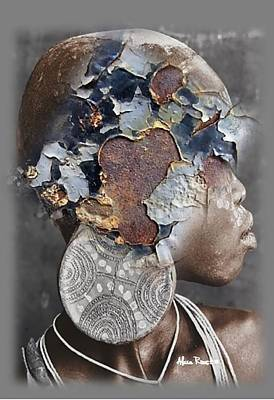 Gold Earrings Photograph - Africa Pure 04 by Alexa Roest