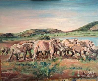Painting - Africa by Rosemary Kavanagh