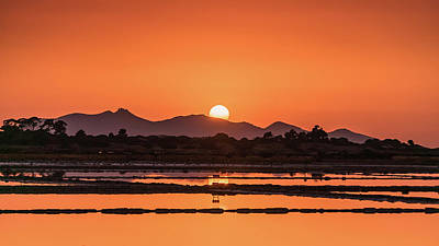 Photograph - Africa  Sunset In Sicily by Emilio Messina