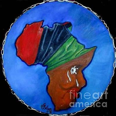 Painting - Africa Weeping by David G Wilson