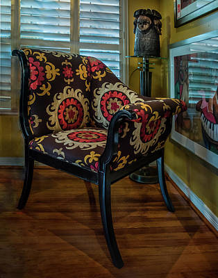 Photograph - African Accent Furniture by James Woody