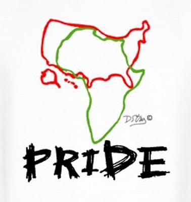 Mixed Media - African American Pride by Deborah Stanley