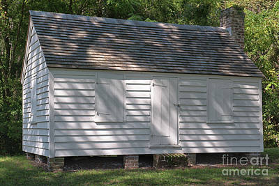Photograph - African American Slave Quarters At Mcleod Plantation by Dale Powell