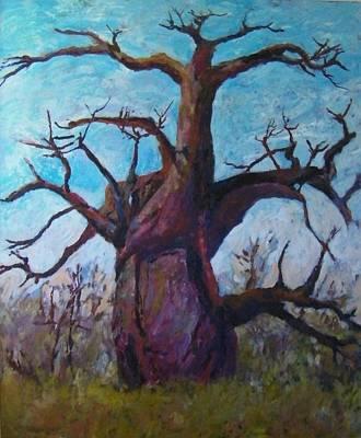 African Baobab Tree No. 2 Original