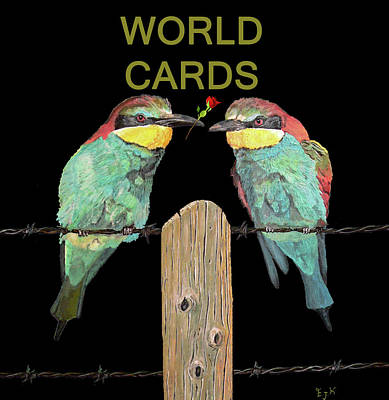 Mixed Media - African Birds by Eric Kempson