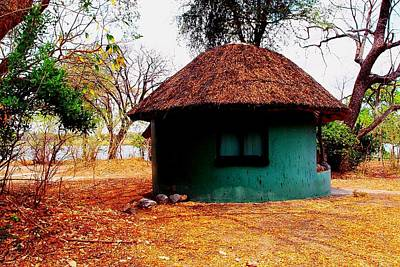 Photograph - African Chalet by Dora Hathazi Mendes