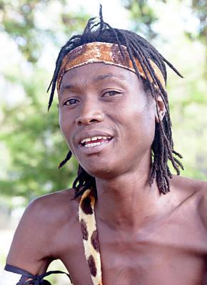 Photograph - African Drummer by Bob VonDrachek