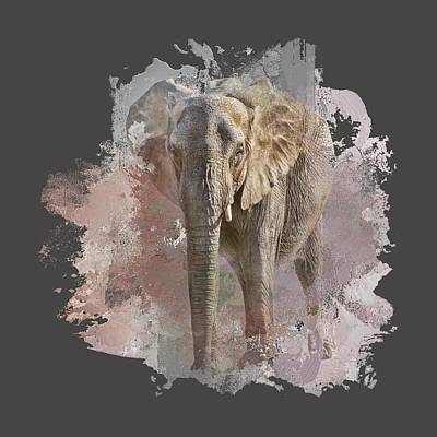 Photograph - African Elephant - Transparent by Nikolyn McDonald