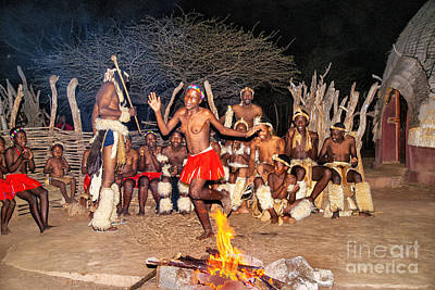 Photograph - African Fire Dance by Rick Bragan