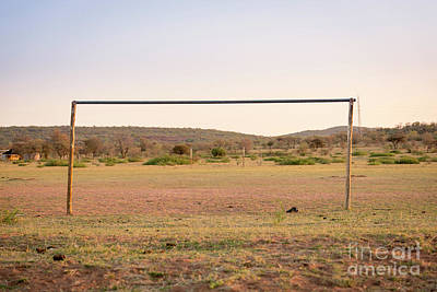 Sports Royalty-Free and Rights-Managed Images - African Football Field by THP Creative