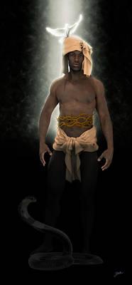 Digital Art - African Genius by Joaquin Abella Ojeda