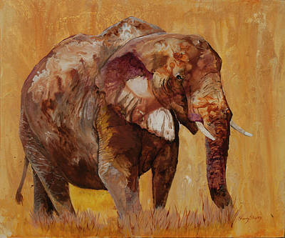 Painting - African Gold by Sherry Shipley