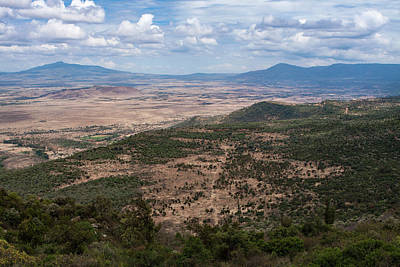 Photograph - African Great Rift Valley by Aidan Moran