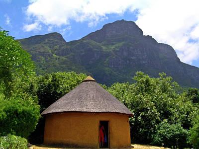 Homesickness Photograph - African Hut South Africa by Douglas Barnett