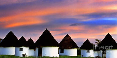 Photograph - African Huts by Scott Kemper