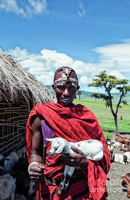 Photograph - Maasai Tribesman by Amyn Nasser