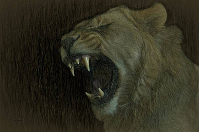 Digital Art - African Nightmare by Ernie Echols