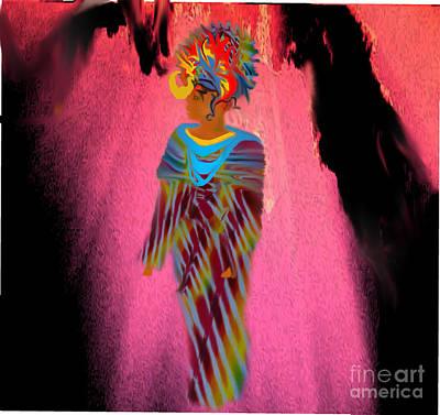 Painting - African Prince by Belinda Threeths