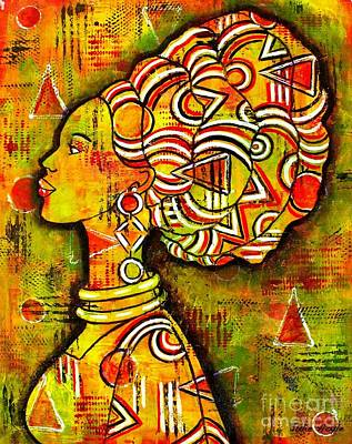 Painting - African Queen by Julie Hoyle
