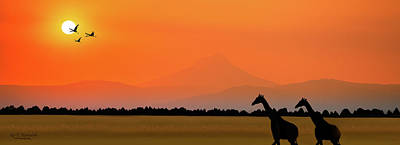 Photograph - African Serenity by Kay Kochenderfer