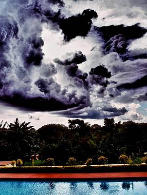 Photograph - African Storm Arrives by Dora Hathazi Mendes