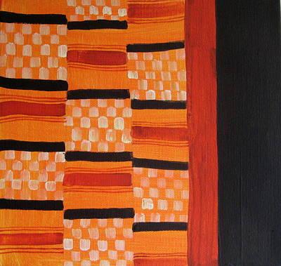 African Textile Art Original