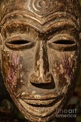 African Tribal Mask. Art Print by John Greim