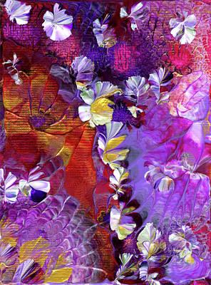 African Violet Awake #5 Art Print