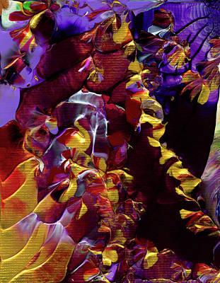 African Violet Awake Art Print