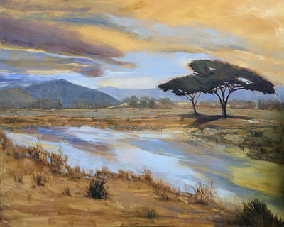 Painting - African Vista by Joyce Snyder