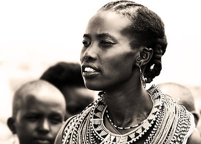 Photograph - African Woman by Anna Om