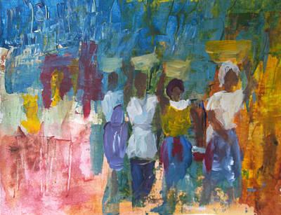 African Women Paintings | Fine Art America