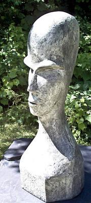Sculpture - African Woman by Michael Rutland