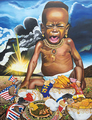 Painting - African't by O Yemi Tubi