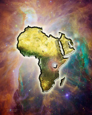 Africas Ascension Art Print