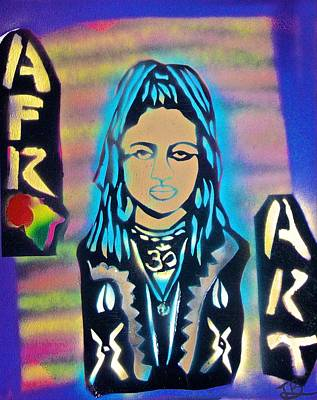 Conscious Painting - Afro Punk Queen by Tony B Conscious