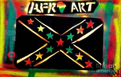 Afro Southern Flag Original by Tony B Conscious