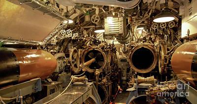 Jon Burch Photograph - Aft Torpedo Tubes by Jon Burch Photography