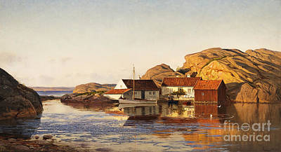 2000 Painting - Aften I Ny-hellesund by Celestial Images