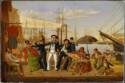 Carlin Painting - After A Long Cruise by John Carlin