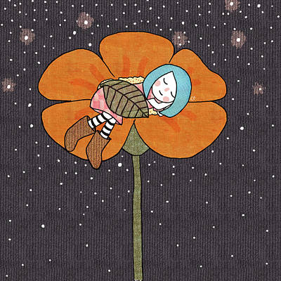 After A Long Day Art Print by Carolina Parada