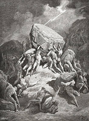 Bible Drawing - After An Original Sketch For The Bible by Vintage Design Pics