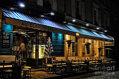 After Closing - Paris Art Print by Mary Machare