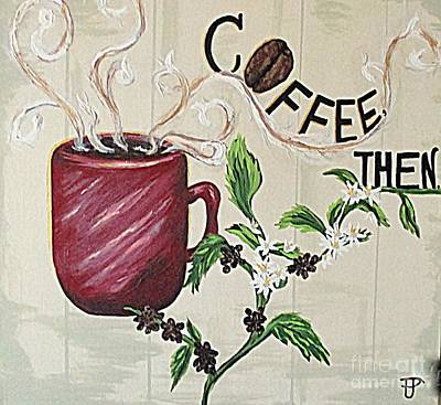 Painting - After Coffee by Patsy Gunn