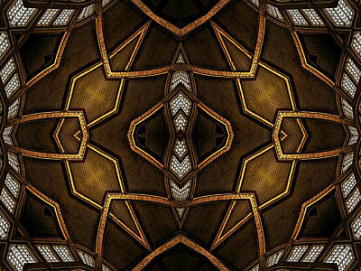 Digital Art - After Deco 2 by Wendy J St Christopher