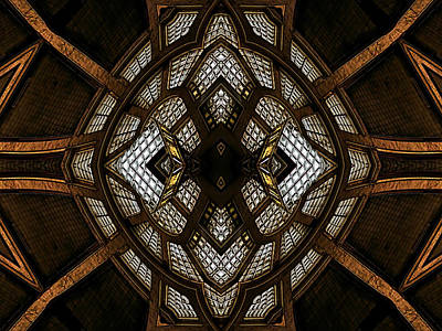 Digital Art - After Deco 3 by Wendy J St Christopher