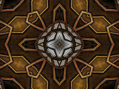 Digital Art - After Deco 9 by Wendy J St Christopher