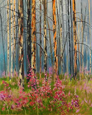 After Forest Fire Art Print