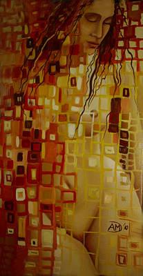 After Hanging Art Print by Ana-Maria Dragomir Cioroiu