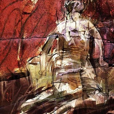 Digital Art - After Henry Moore IIII by Jim Vance
